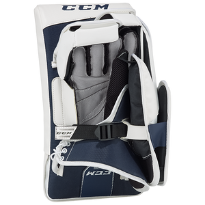 CCM Slightly Used Extreme Flex 4.5 JR Goal Set - Pads, Blocker and Catch