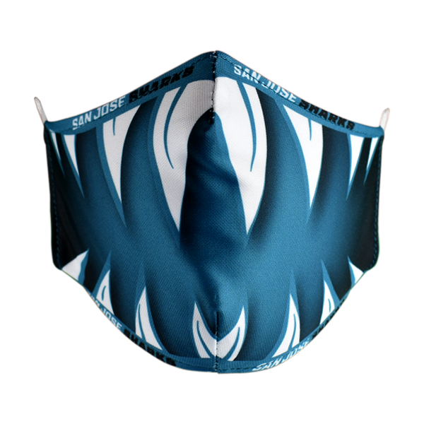 Sharks Jaws Face Mask