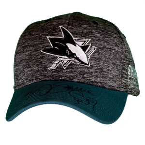 Signed SJ Sharkie Appearance Exclusive Hat - Teal/Heather Gray