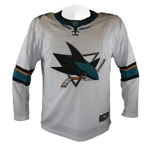 Fanatics Replica White Sharks Jersey
