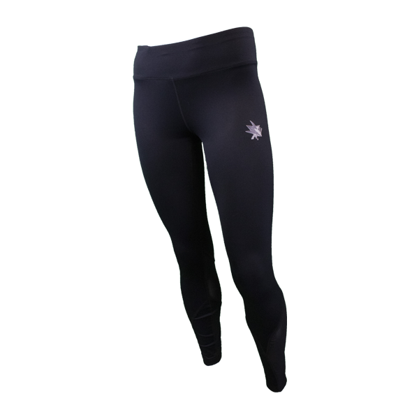 Levelwear Sharks Black Women's Yoga Pants 40% Off