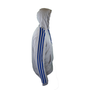 Adidas Sharks 3 Stripe Tape Full Zip Jacket
