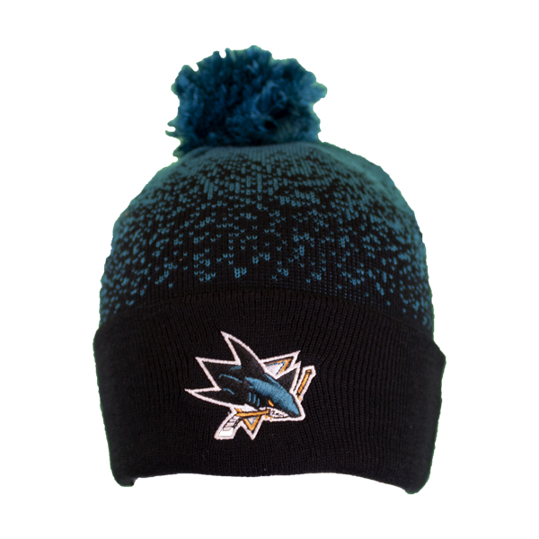 Adidas Sharks Color Fade Knit Pom Beanie
