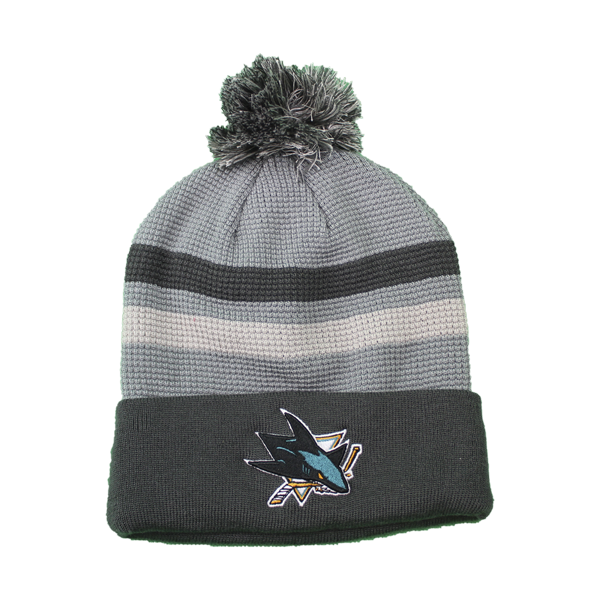 Fanatics Sharks Stone Grey Home Ice Beanie
