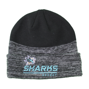 Fanatics Sharks Black Locker Room Beanie