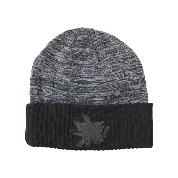 Fanatics Sharks Black Ice Beanie
