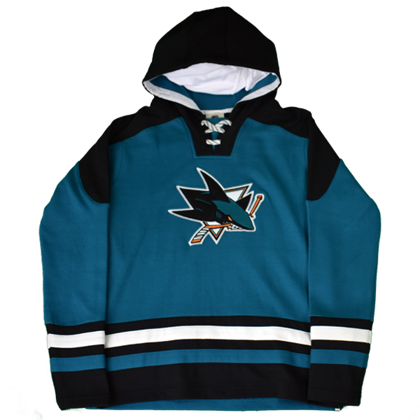 OuterStuff Sharks Youth Lace Hoodie