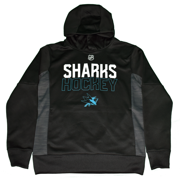 OuterStuff Sharks Letter Hoodie