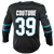 Fanatics Sharks Logan Couture Replica Black Stealth Jersey 40% Off