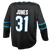 Fanatics Sharks Martin Jones Replica Black Stealth Jersey 40% Off
