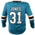 Fanatics Sharks Martin Jones Replica Teal Jersey 40% Off