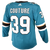 Adidas Sharks Logan Couture Authentic Teal Jersey w/ Pro Lettering 40% Off