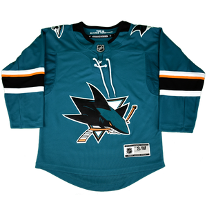 Fanatics Sharks Premier Teal Youth Jersey