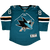 Fanatics Sharks Brent Burns Premier Teal Youth Jersey 40% Off