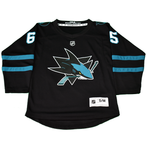 Sharks Outerstuff Jersey Black Youth Karlsson