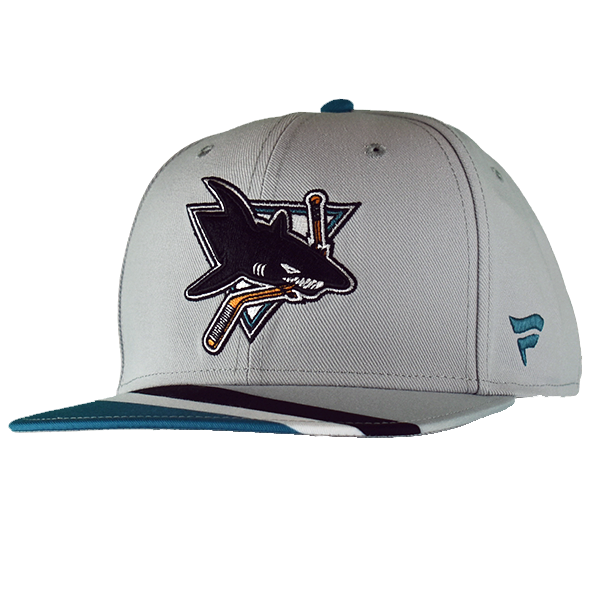 Fanatics Sharks Reverse Retro Flat Brim Snap Back Hat