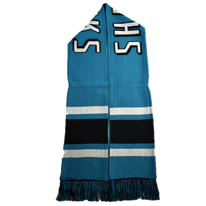 Fanatics Sharks Vintage Style Scarf