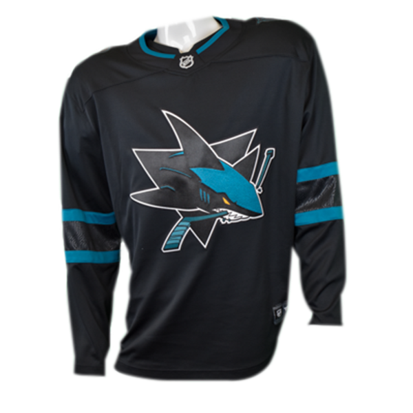 Fanatics Replica Black Sharks Stealth Jersey