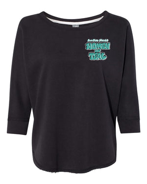 Women of Teal Sweatshirt designed by Girl Mobb
