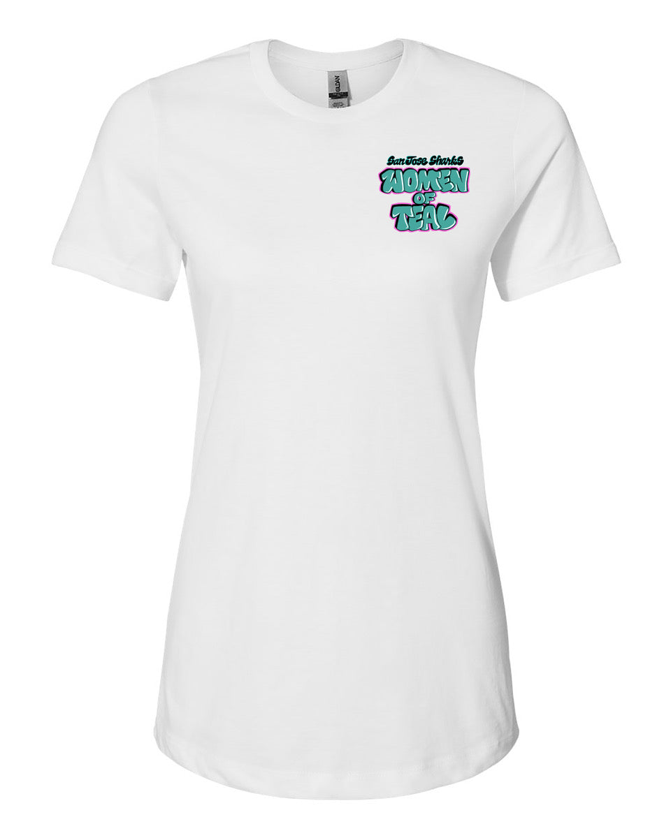 Women of Teal Tee designed by Girl Mobb