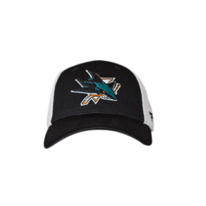 Fanatics Sharks Primary Logo Mesh Flex Fit Hat