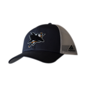 Adidas Structured ADJ Mesh Vintage Sharks Hat