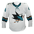 Game Used Pro White Sharks Jersey - Marc Edouard Vlasic #44