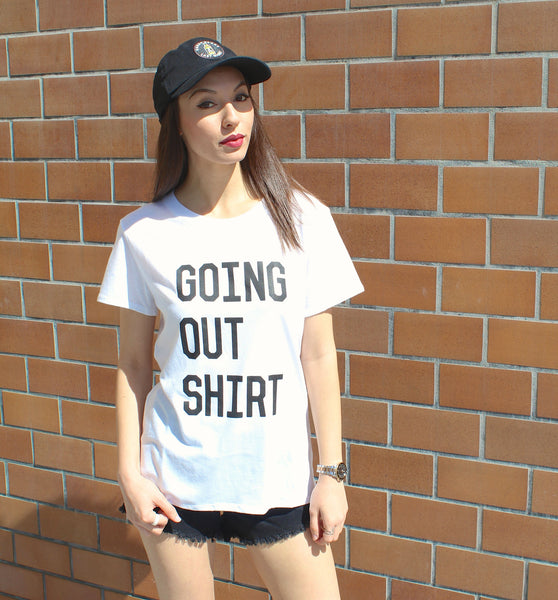 Going Out Loose Tee