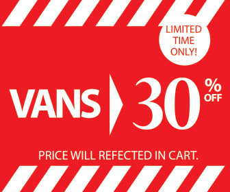 VANS 30% OFF | LIMITED TIME ONLY!