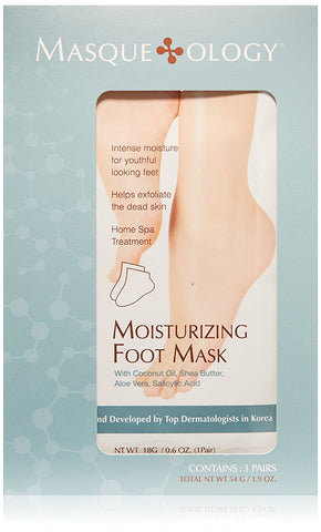 Moisturizing Foot Mask, 3 Masks