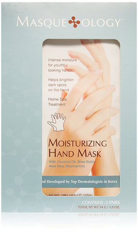 Moisturizing Hand Mask, 3 Masks