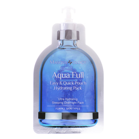 Aqua Full Easy & Quick Pouch Hydrating Sleeping Pack, 0.52 OZ