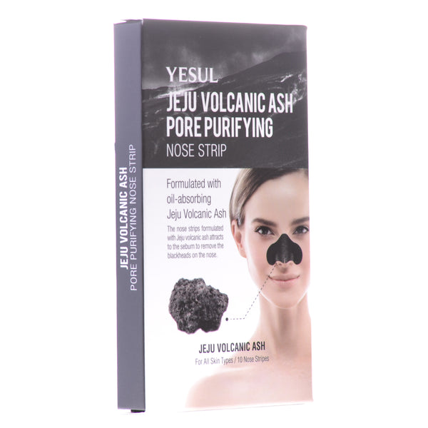 Volcanic Lava Ash Pore Purifying Nose Strip, 10 ct