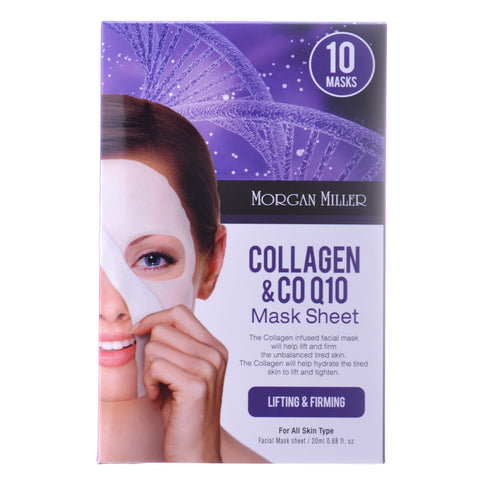 Collagen & CO Q10, 10 Masks