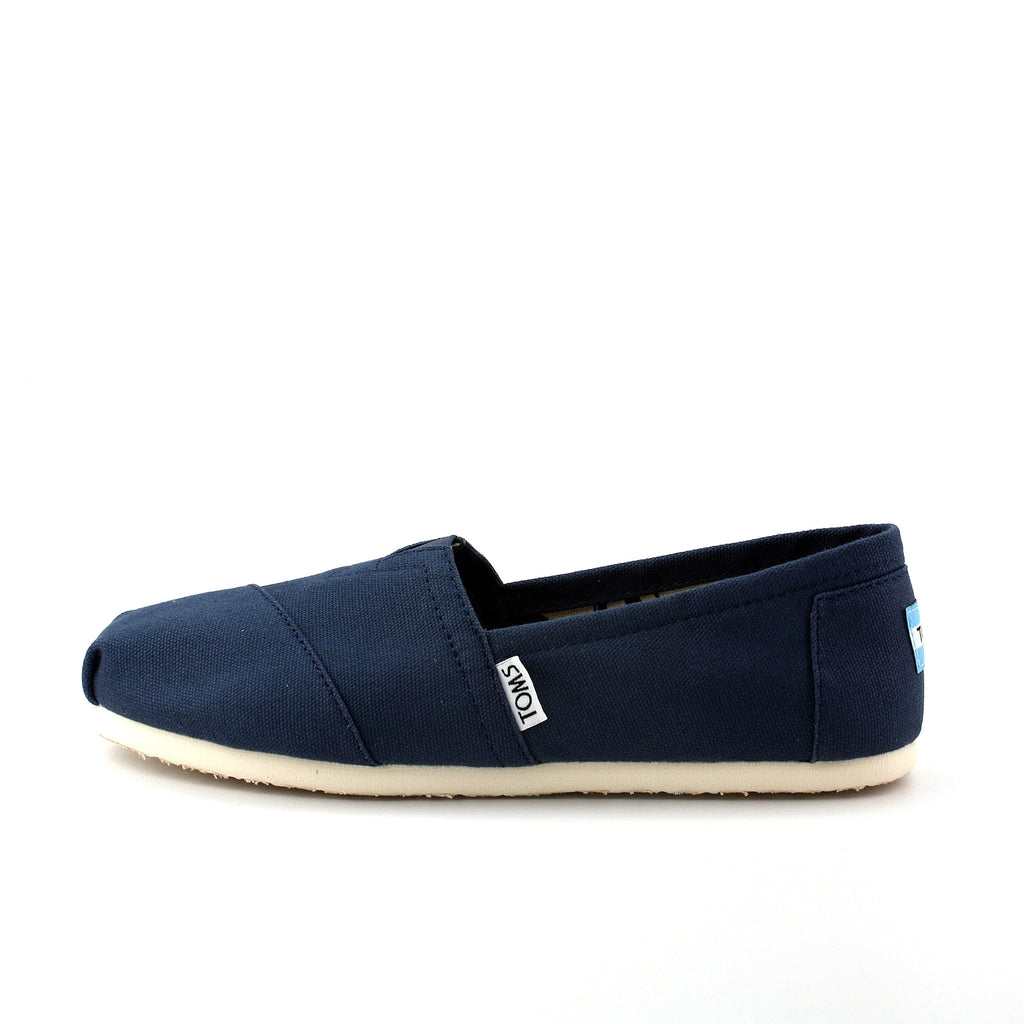 TOMS NAVY CANVAS WOMEN'S CLASSICS