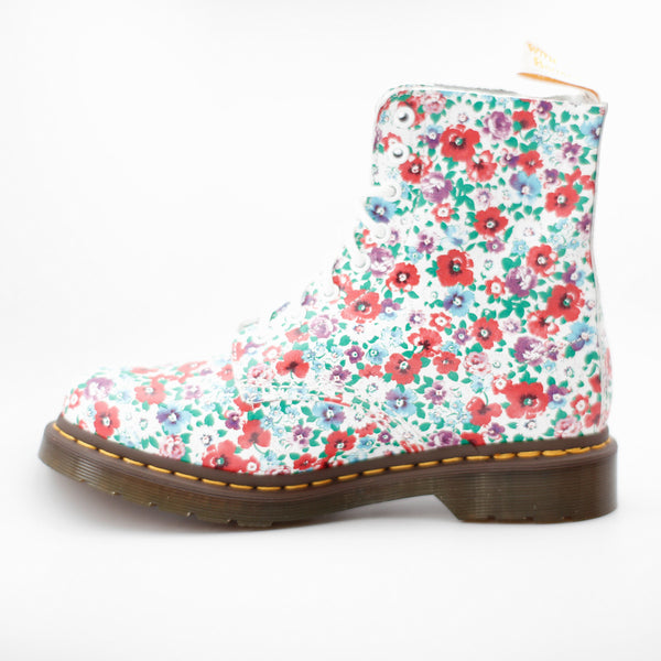 DR.MARTENS PASCAL - WHITE WILDPOPPY