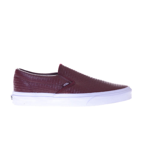 Classic Slip-On (Emboss Check) Prtry/Lthr