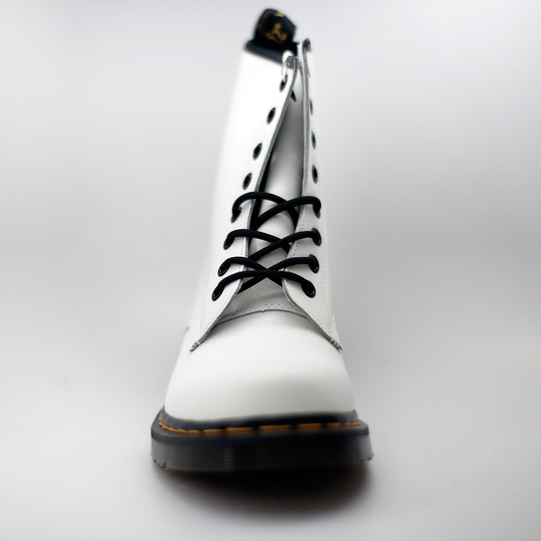 DR.MARTENS WHITE BLACK SMOOTH