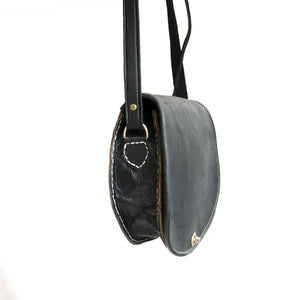 SADDLE BAG zwart