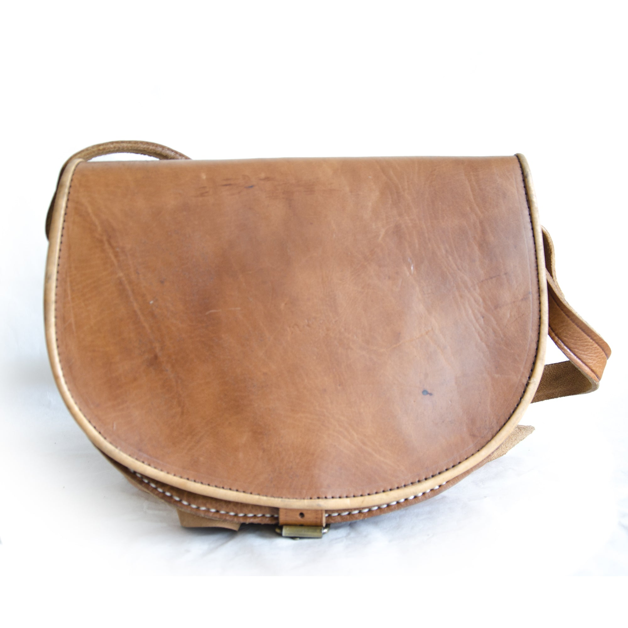 SADDLE BAG camel