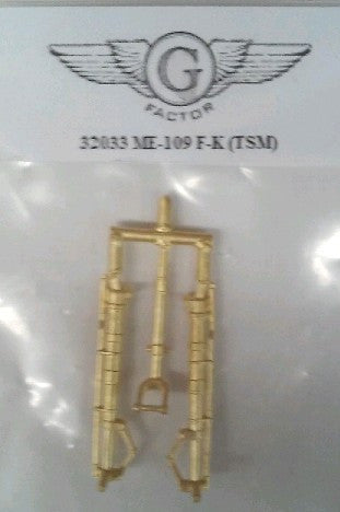 GFM-32033 1/32 Me109F/K Brass Landing Gear for TSM (D)