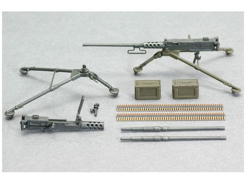 ASU-35L08 - 1/35 Browning M2 Machine Gun Set A W/Tripod