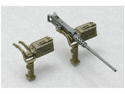 ASU-35L09 - 1/35 Browning M2 Machine Gun Set B W/Cradle
