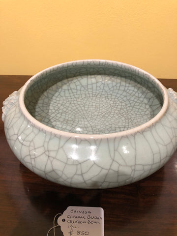 Chinese Crackle glazed bowl