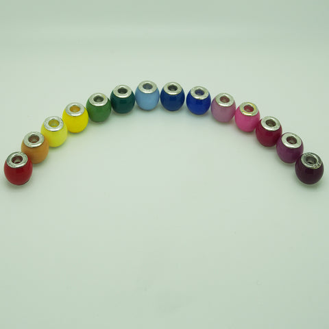 Range of colours available for all our resin pieces