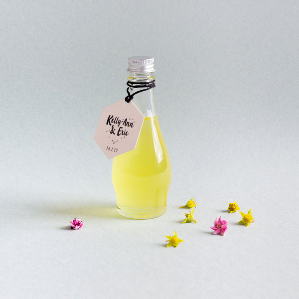 Long Neck Limoncello (Fill Your Own) Alcohol Bottle Favours
