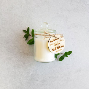 Soy Candle Giveaway Favours