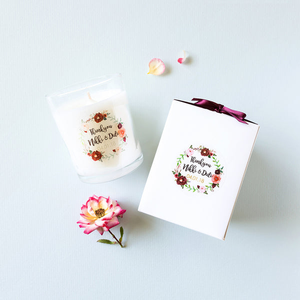Boxed Tumbler Candle Gift