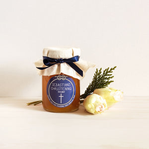 Large 100mL Honey Jar Personalised Bonbonniere Baptism