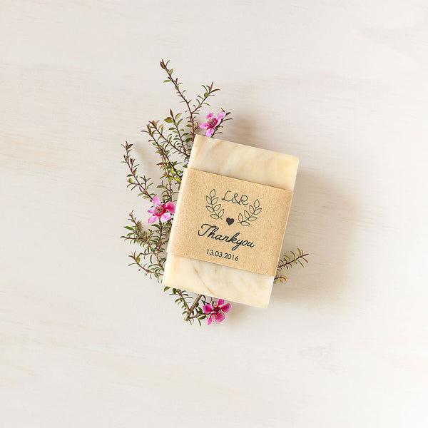 Natural Soap Personalised For Your Wedding And Event Favours Favor
